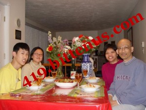 me_-AND-_my_Family_on_dinning_table